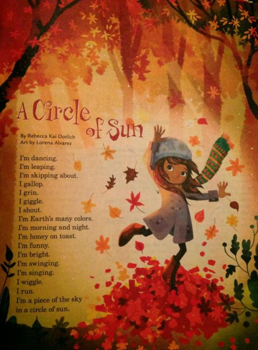 A Circle of Sun by Rebecca Kai Dotlich