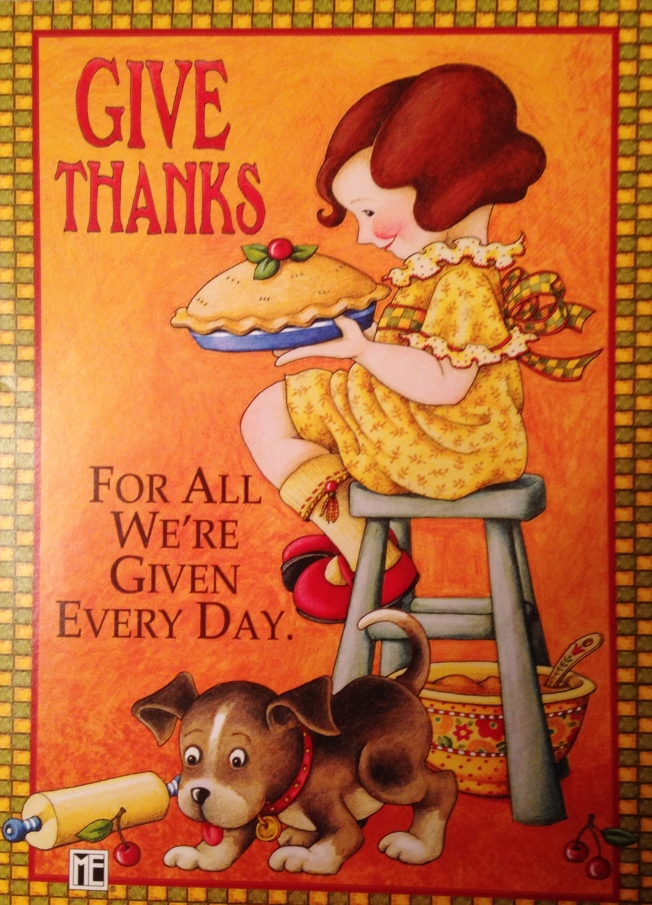 Give THanks Pie