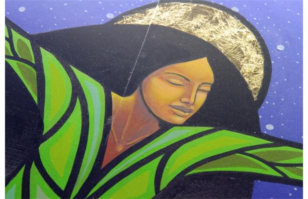 Image from mural at Gradin Station