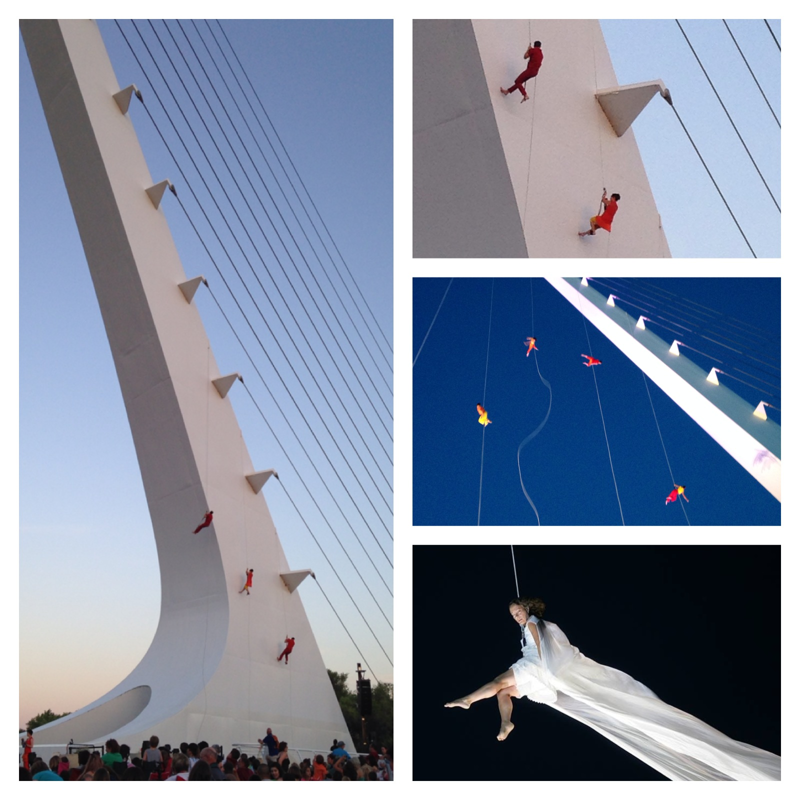 Bandaloop collage
