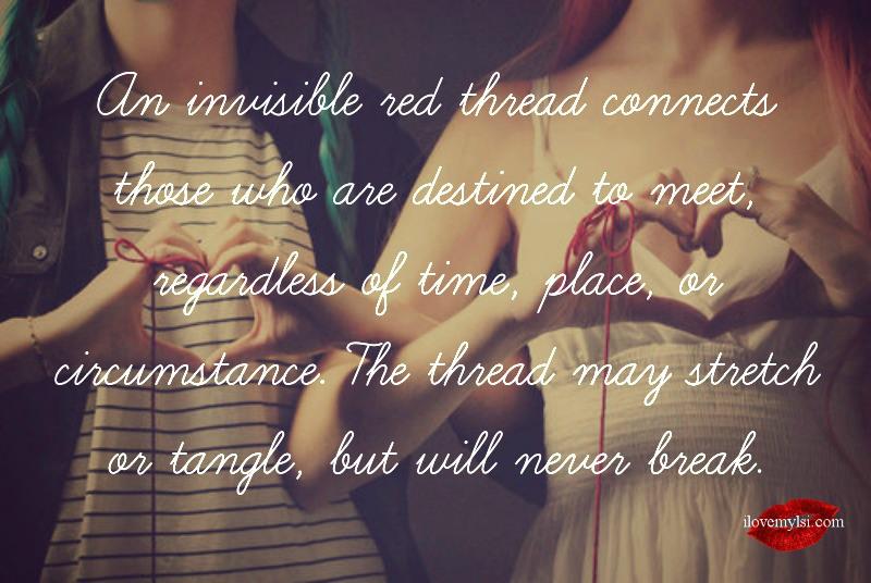The red thread lyrics