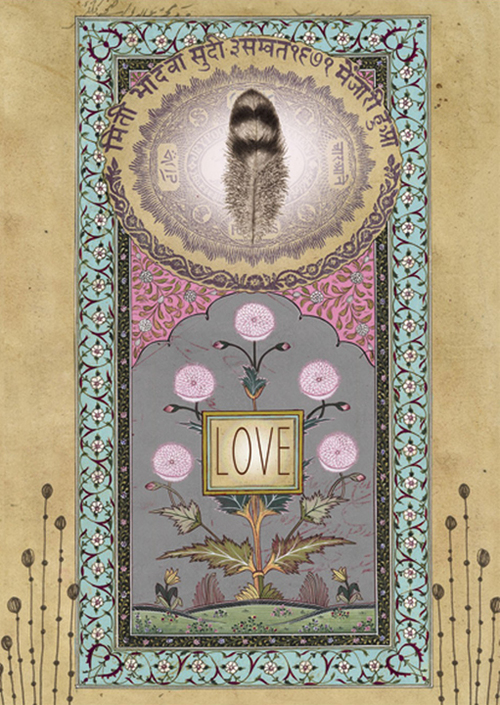 Love feather anahata katkin