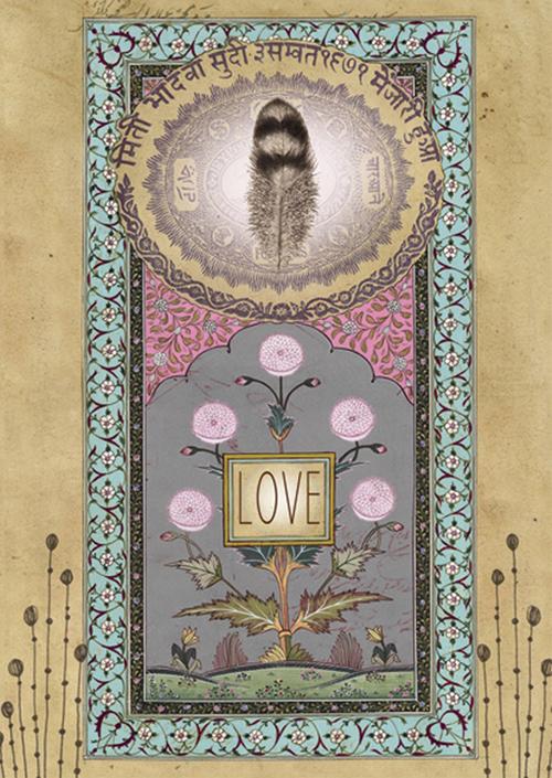 Love feather anahata katkin