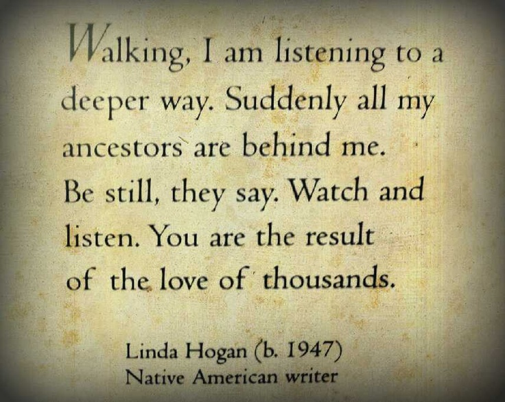 Linda Hogan Quote