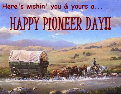 Pioneer Day!
